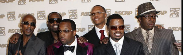 Le talentueux groupe New Edition